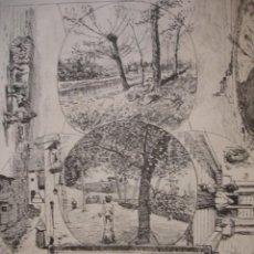 Arte: OLOT VISTAS. AÑO 1880. Lote 147461718
