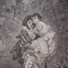 Arte: DULCE CARGA SCWENINGER . AÑO 1880. Lote 147462010