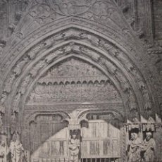 Arte: PALMA DE MALLORCA CATEDRAL . AÑO 1880. Lote 147462130