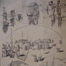 Arte: HAYRE VISTAS . AÑO 1880. Lote 147462230