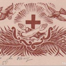 Arte: XILOGRAFÍA DE ENRIC C RICART PARA CENTENARIO DE CLARISAS DE LA DIVINA PROVIDENCIA. VILANOVA GELTRÚ. Lote 147490510