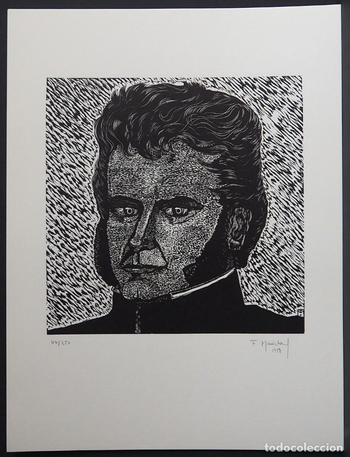FRANÇOIS MARÉCHAL. XILOGRAFIA. (Arte - Xilografía)