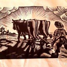 Arte: F. CANYELLAS - FIRMADO Y NUMERADO. Lote 148656246