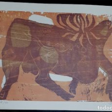Arte: SEOANE, XILOGRAFIA FIRMADA Y NUMERADA. Lote 150800950