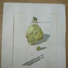 Arte: XILOGRAFÍA. DIVINA COMEDIA. DANTE ALIGHIERI. DALÍ. INFIERNO CANTO XXIII UGOLINO Y RUGGIERI. Lote 151558004