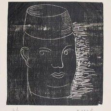 Arte: XILOGRAFÍA ORIGINAL DEL PINTOR JAUME ROURE, FIRMADA Y NUMERADA, 75 X 62 CM. Lote 152231966