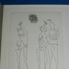 Arte: (M) EUGENIO F GRANELL - LA CHAMBRE NOIRE CON UNA XILOGRAFIA FIRMADA Y NUMERADA 17/95 , LES ILES FORT. Lote 153361894