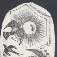Arte: XILOGRAFÍA ORIGINAL DE E. C. RICART. . Lote 153725106