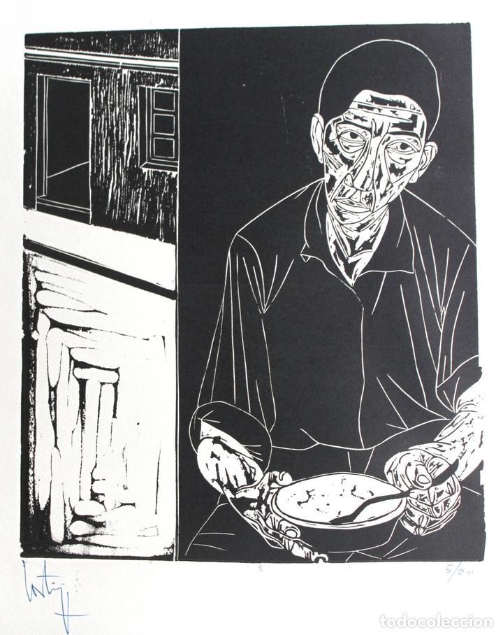 FRANCISCO CORTIJO (GRABADO, XILOGRAFÍA) (Arte - Xilografía)
