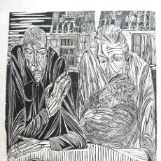 Arte: GRABADO FRANCISCO CUADRADO (XILOGRAFÍA). Lote 155586386
