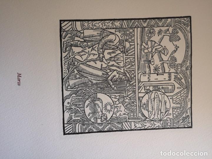 Arte: 12 xilografie trate dal kalendrier des Bergiers - Foto 4 - 164136958