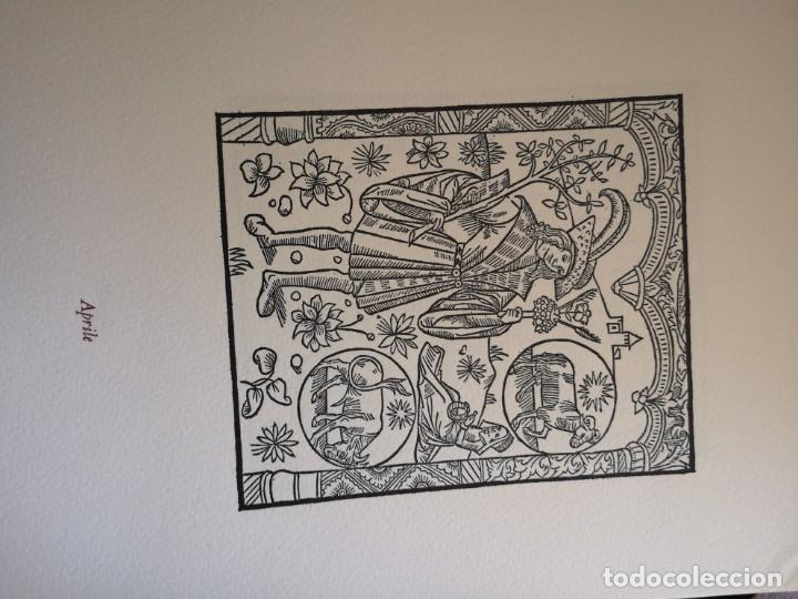 Arte: 12 xilografie trate dal kalendrier des Bergiers - Foto 5 - 164136958