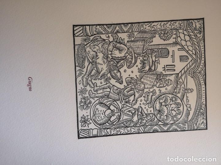 Arte: 12 xilografie trate dal kalendrier des Bergiers - Foto 7 - 164136958