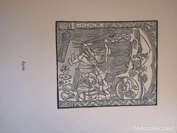Arte: 12 xilografie trate dal kalendrier des Bergiers - Foto 9 - 164136958