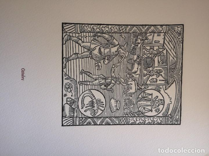 Arte: 12 xilografie trate dal kalendrier des Bergiers - Foto 11 - 164136958