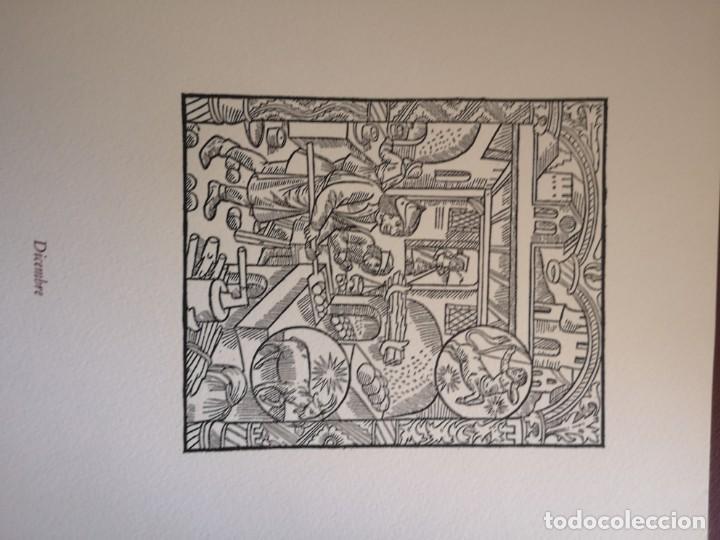Arte: 12 xilografie trate dal kalendrier des Bergiers - Foto 13 - 164136958