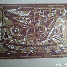 Arte: ANTOINETTE GISPEN - LE BATEAU A L'OISEAU. Lote 164867430