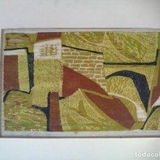 Arte: WILLIAM ROSS ABRAMS. DEYÁ, MALLORCA. Lote 165391714