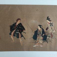 Arte: WOODCUT JAPONÉS A IDENTIFICAR , ANTIGUO Y ORIGINAL , JAPÓN . Lote 169311620
