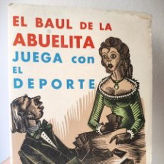 Arte: EL BAUL DE LA ABUELITA - 12 XILOGRAFIAS ANTONI GELABERT - TORREDEMBARRA - 1971. Lote 169956984