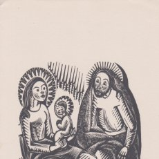 Arte: XILOGRAFIA ANTONI GELABERT - DÍPTIC (11,5X22,5). Lote 171956694
