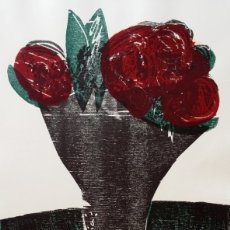 Arte: HAP GRIESHABER, PRUEBA XILOGRÁFICA, 1964. Lote 172620689