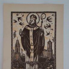 Arte: XILOGRAFIA E.C. RICART SANT NARCIS. Lote 180268018