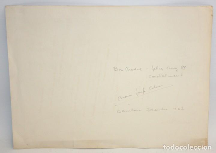 Arte: MARIA JOSEFA COLOM -XILOGRAFIA - LAUSANNE 1967. - Foto 3 - 173099319