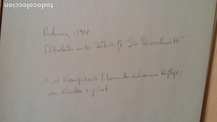 Arte: Willi Geissler La guerra de los campesinos, Portfolio con 6 xilografías , 1926 - Foto 6 - 174461894