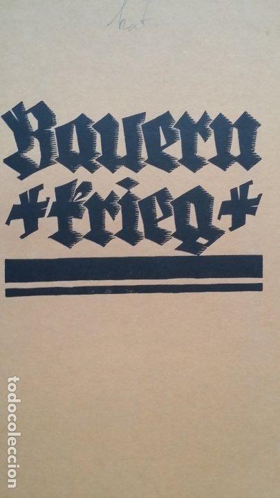 Arte: Willi Geissler La guerra de los campesinos, Portfolio con 6 xilografías , 1926 - Foto 3 - 174461894