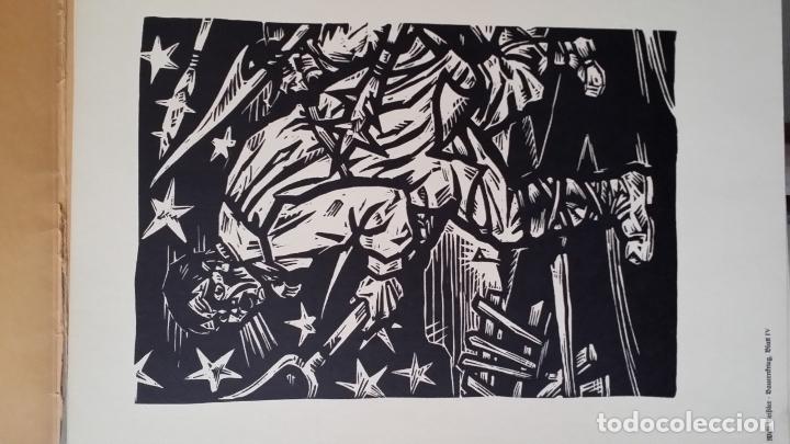 Arte: Willi Geissler La guerra de los campesinos, Portfolio con 6 xilografías , 1926 - Foto 13 - 174461894