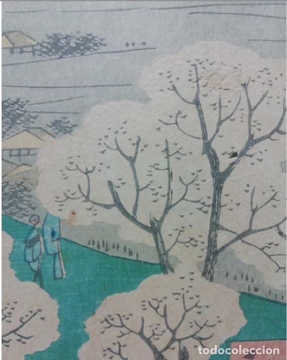 Arte: 36 paisajes de la capital del oeste, monte Atsuka. T?ky? sanjyuroku kei atsuka yama ?????? ??? - Foto 7 - 177216835