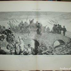 Arte: XILOGRAFIA: EL EMAJADOR CARLOS V EN MARCHA PARA EL MONASTERIO DE YUSTE G-ILUSESP-002. Lote 179152581
