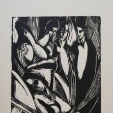 Arte: .FRANCISCO BORES.37.5X49.MANCHA 15X12,,. Lote 181206071