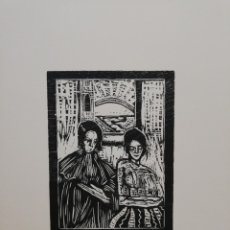 Arte: .FRANCISCO BORES.37.5X49.MANCHA 15X12,,. Lote 181206305
