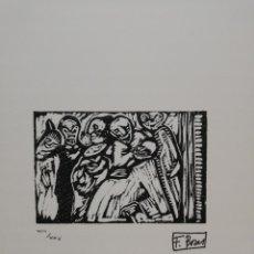 Arte: .FRANCISCO BORES.37.5X49.MANCHA 15X12,,. Lote 181206398