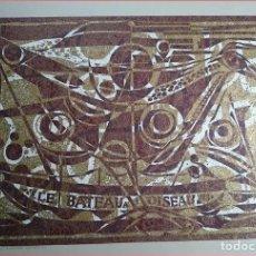 Arte: OBRA E ANTOINETTE GISPEN - LE BATEAU A L'OISEAU COMPARTIR LOTE . Lote 181921518