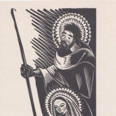 Arte: XILOGRAFIA ANTONI GELABERT - DÍPTIC (11,5X22,5). Lote 182195446