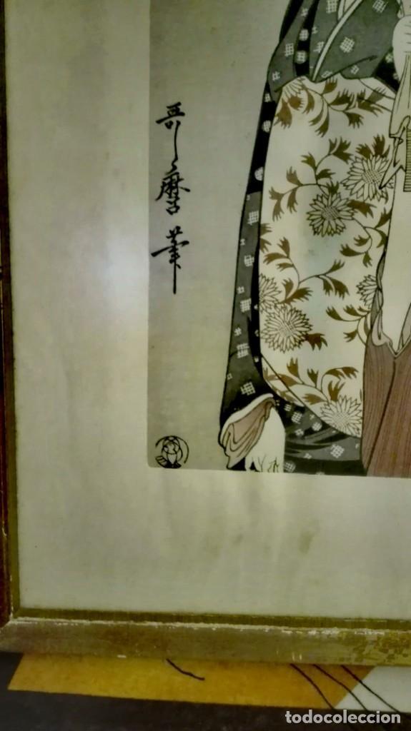 UKIYO-E KITAGAWA UTAMARO (Arte - Xilografía)