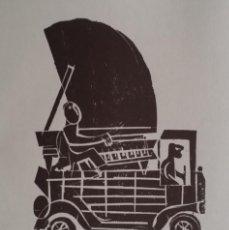 Arte: HAP GRIESHABER: BEETHOVEN, FIRMADO Y JUSTIFICADO, VARIAS XILOGRAFÍAS, 1976. Lote 186048973