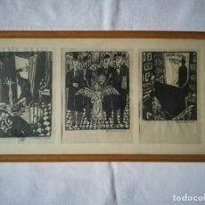 Art: 3 XILOGRAFÍAS DE JOSÉ ANTONIO FERNÁNDEZ-MURO. Lote 187525573