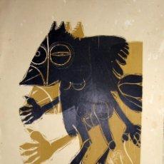 Arte: FRANCISCO IZQUIERDO. 1971. (DEDICADO). Lote 188557081