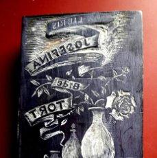 Arte: EX - LIBRIS - BLOQUE MADERA IMPRESIÓN - 1950'S. Lote 191689093