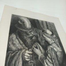 Arte: BONITA XILOGRAFÍA DE LOS CUENTOS DE PERRAULT, GUSTAVE DORÉ. 1ª ED. HEBERT S, PARÍS, 1862, 37X 27 CM.. Lote 192959328