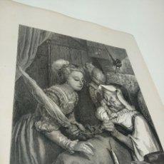 Arte: BONITA XILOGRAFÍA DE LOS CUENTOS DE PERRAULT, GUSTAVE DORÉ. 1ª ED. HEBERT S, PARÍS, 1862, 37X 27 CM.. Lote 192959358