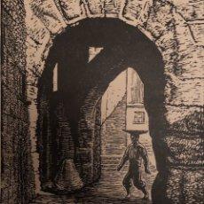 Arte: XILOGRAFÍA DE CASTELLS MARTI.. Lote 197349903