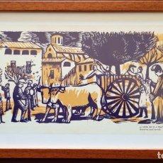 Arte: EL PI DE CENTELLES - LINILEUM - REPRODUCCIÓN. Lote 198636572