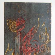 Arte: KLAUS HERZER, XILOGRAFÍA DE 1990, FIRMADA, NUMERADA, PERFECTA. Lote 198906888