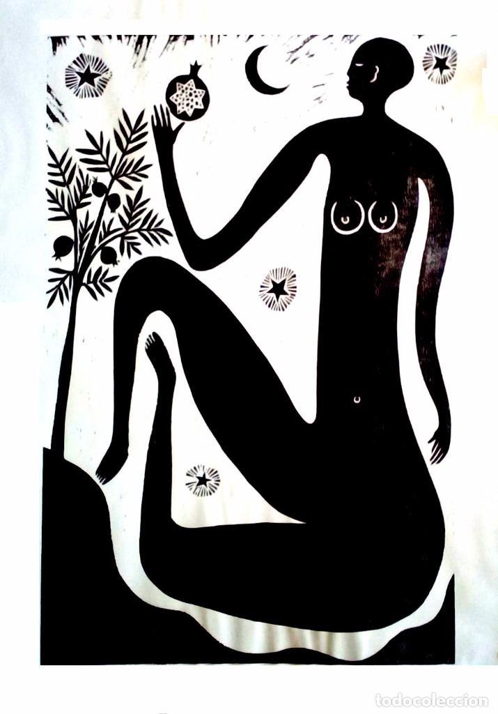 XILOGRAFÍA DE MATTHEW NUMERADA Y FIRMADA (Arte - Xilografía)