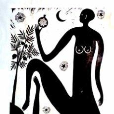 Arte: XILOGRAFÍA DE MATTHEW NUMERADA Y FIRMADA. Lote 199705373